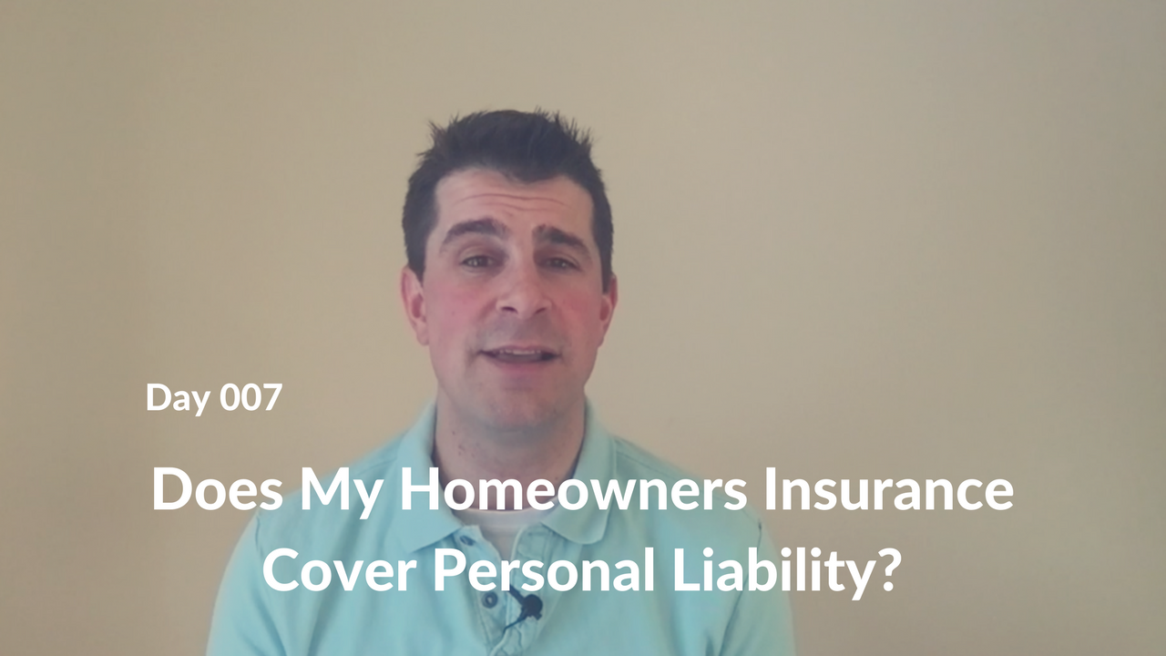 Does My Homeowners Insurance Cover Personal Liability