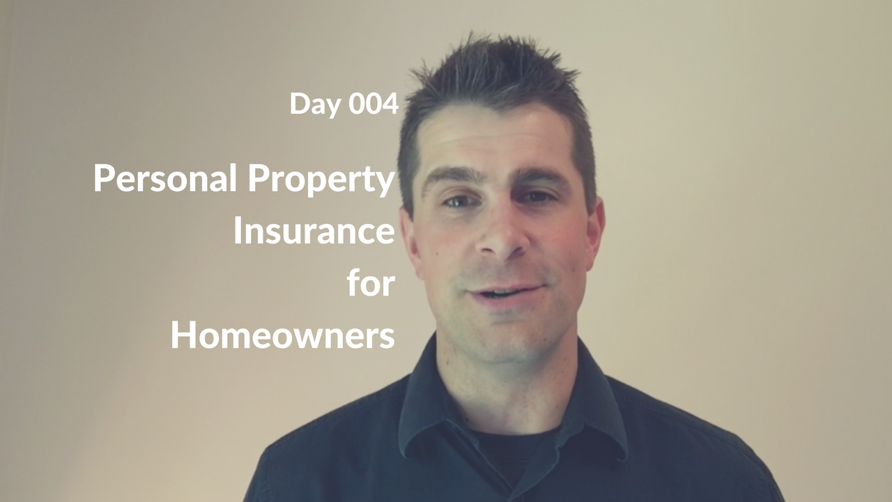 Personal Property Insurance for Homeowners
