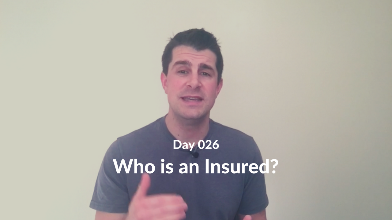 Who is an Insured?